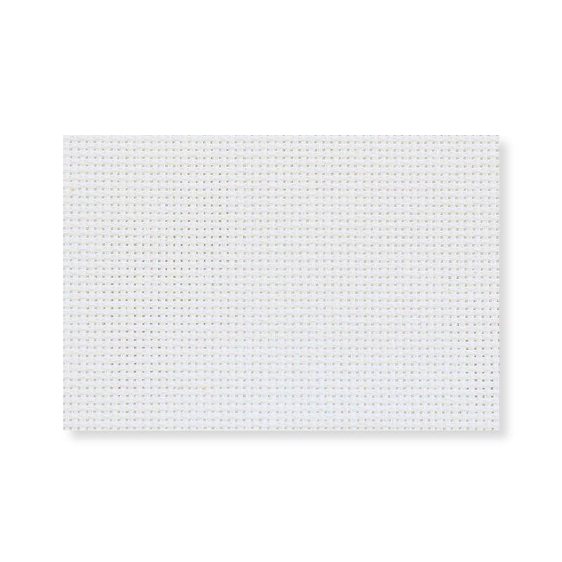 Канва в упаковке ГАММА 100%хлопок 50х50см 18кл белый
