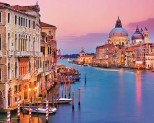 Картина по номерам MG2409 Вид с моста Венеции