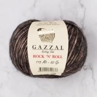 Пряжа Gazzal Rock n Roll (13092 коричневый)