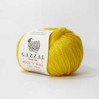Пряжа Gazzal Rock n Roll (13908 жёлтый)