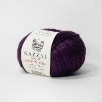 Пряжа Gazzal Rock n Roll (13911 фиолетовый)