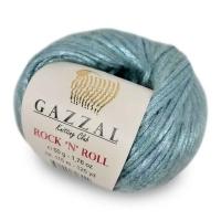 Пряжа Gazzal Rock n Roll (13903 нежно-голубой)