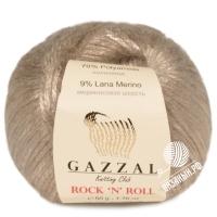 Пряжа Gazzal Rock n Roll (13905 светло-бежевый)