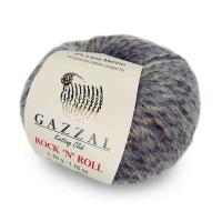 Пряжа Gazzal Rock n Roll (13952 песочный/т.беж)