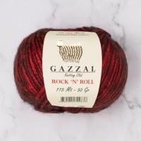 Пряжа Gazzal Rock n Roll (12833 бордо)