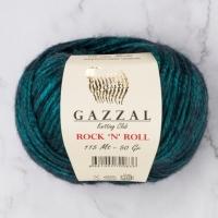 Пряжа Gazzal Rock n Roll (Пряжа Gazzal Rock n Roll, цвет 12834)