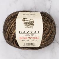 Пряжа Gazzal Rock n Roll (13186 коричневый)