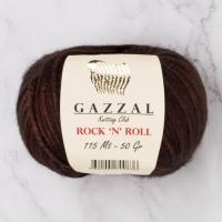 Пряжа Gazzal Rock n Roll (13189 шоколад)