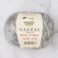 Пряжа Gazzal Rock n Roll (13255 св.серый)