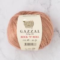 Пряжа Gazzal Rock n Roll (13479 пыльная роза)