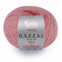 Пряжа Gazzal  Silk a Cashmere