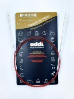 Спицы Addi 100 см 2,5 мм круговые с удлиненным кончиком