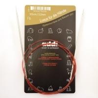 Спицы Addi 100 см 3 мм круговые с удлиненным кончиком (775-7/3-100)