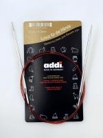 Спицы Addi 100 см 4,5 мм круговые с удлиненным кончиком