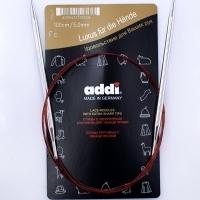 Спицы Addi 100 см 5 мм круговые с удлиненным кончиком (775-7/5-100)