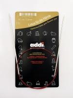 Спицы Addi 60 см 2,5 мм круговые с удлиненным кончиком