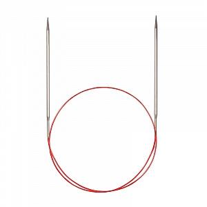 Спицы Addi 60 см 5 мм круговые с удлиненным кончиком