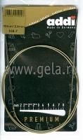 Спицы Addi 2 мм 100 см круговые супергладкие