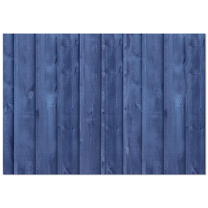 Фотофон Синие доски, 70 х 100 см, бумага, 130 г/м