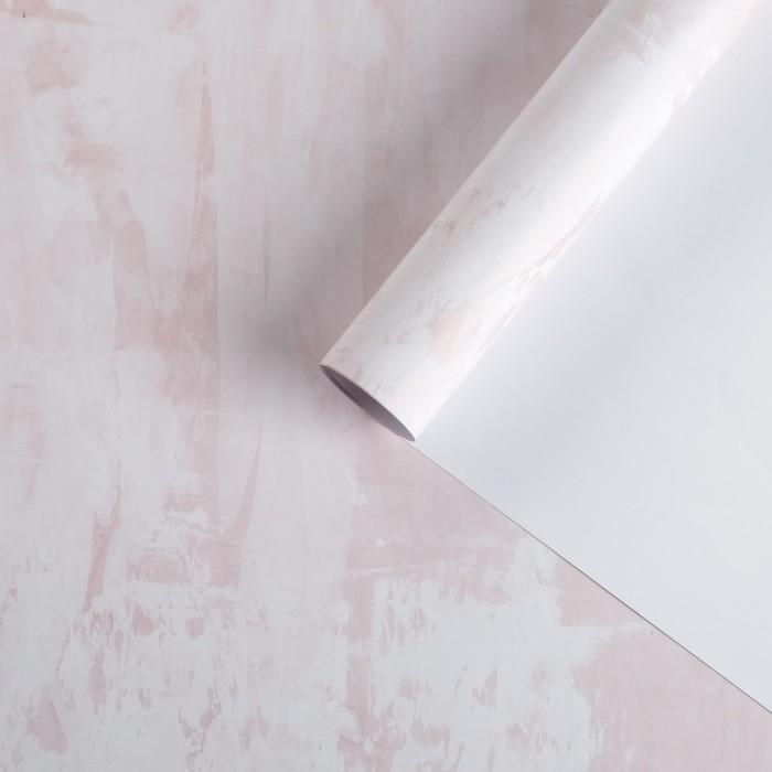 Фотофон Розовая штукатурка, 70х100 см, бумага, 130 г/м