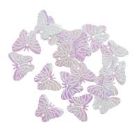 Пайетки Бабочки 18х23мм Астра 10г (319 св.розовый перламутр 7700479)