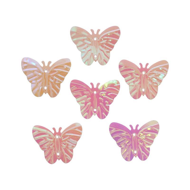 Пайетки Бабочки 18х23мм Астра 10г