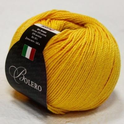 Пряжа Сеам Болеро (Пряжа Сеам Болеро, цвет 07 насыщенный жёлтый)