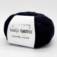 Пряжа Camel Hair Lana Gatto (5000 черный)