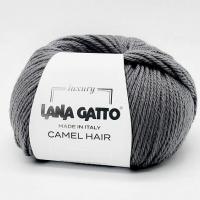Пряжа Camel Hair Lana Gatto (5407 серый)