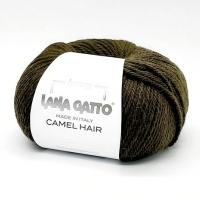 Пряжа Camel Hair Lana Gatto (5410 хаки)
