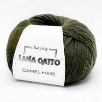 Пряжа Camel Hair Lana Gatto (5913 болотный)
