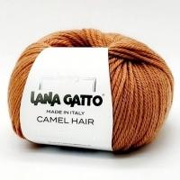 Пряжа Camel Hair Lana Gatto (8403 кирпичный)