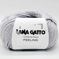 Пряжа Feeling Lana Gatto (12504 светло-серый)