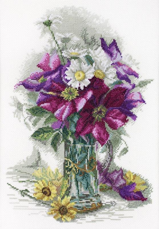 Набор для вышивания 06.002.13 Цветочное очарование Марья Искусница