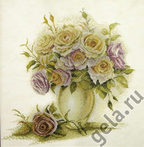 Набор для вышивания Розы по рис. Алисы Майской 04.005.06