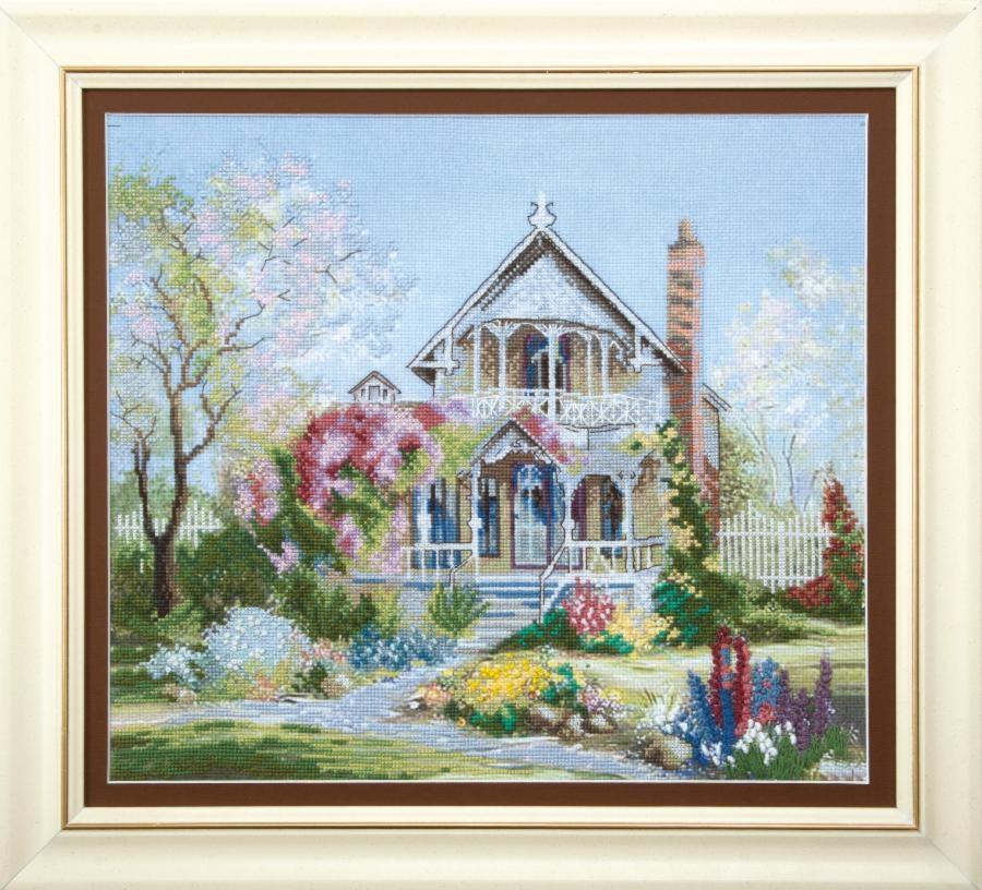 Набор для вышивания РК-066 Цветущий сад  Чаривна Мить