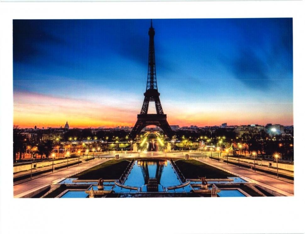 Алмазная мозаика на подрамнике полной выкладки круглые стразы AGK76372 Париж 50х65 см