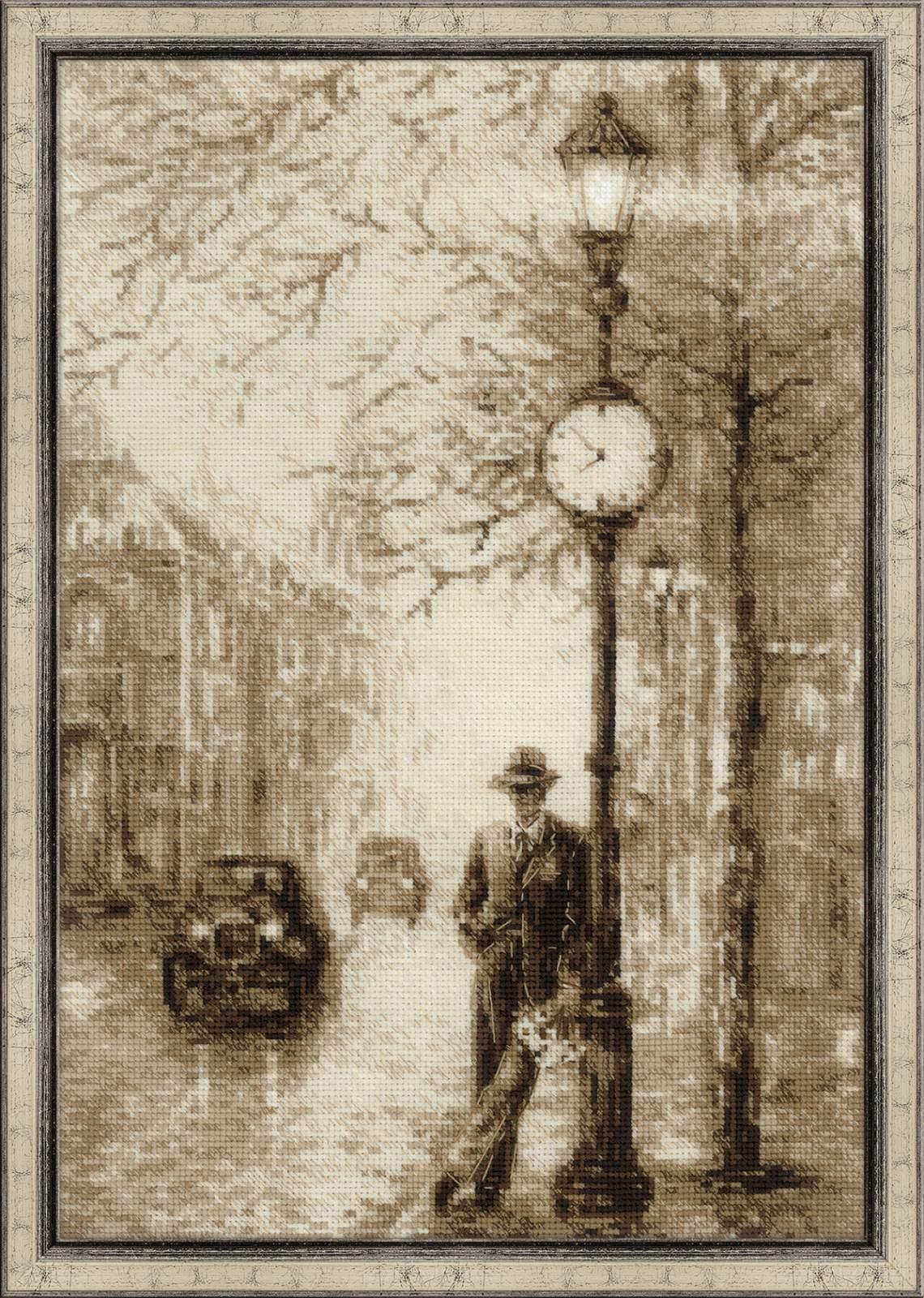 Набор для вышивания 1611 Старая фотография. Ожидание Риолис