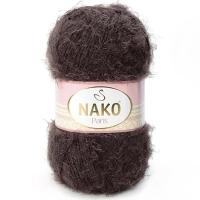 Пряжа Nako Paris (Пряжа Nako Paris, цвет 11270 коричневый)