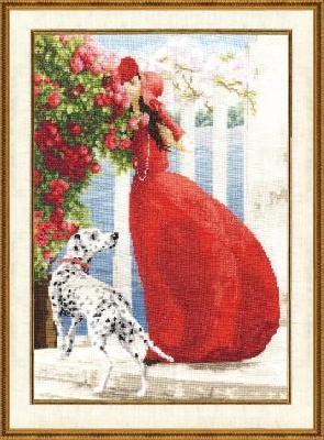 Набор для вышивания ЧМ-015 Аромат роз Золотое Руно