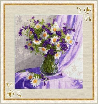 Набор для вышивания СЖ-019 Сиреневый натюрморт Золотое Руно