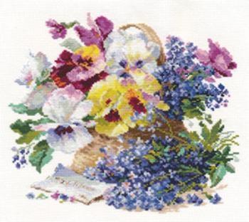 Набор для вышивания 2-24 Послание любимой Алиса