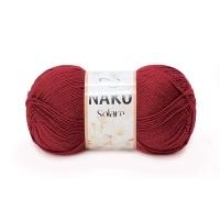 Пряжа Nako Solare (3630 темно-бордовый)