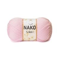 Пряжа Nako Solare (4857 светло-розовый)