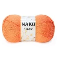 Пряжа Nako Solare (966 оранжевый)