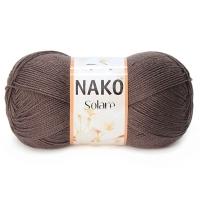 Пряжа Nako Solare (2316 коричневый)