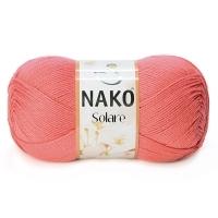 Пряжа Nako Solare (11245 коралловый)