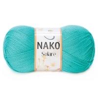 Пряжа Nako Solare (11246 бирюза)