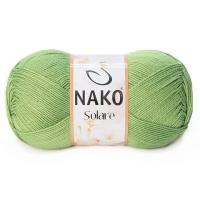 Пряжа Nako Solare (11247 зеленый)