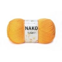 Пряжа Nako Solare (1380 оксидно-желтый)